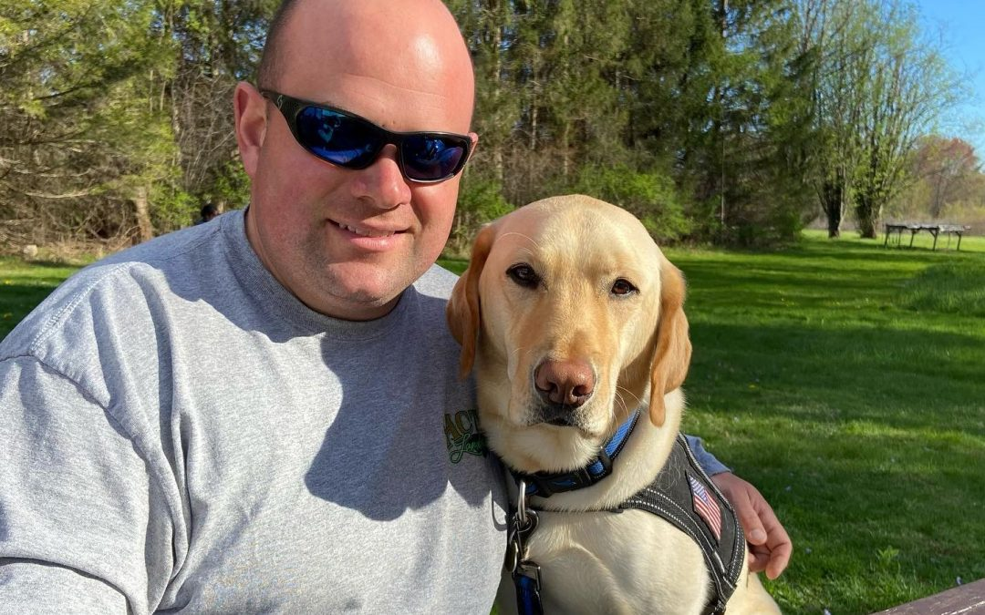 September 2021: Officer Zane, Acton's Service Dog – An Interview with his Human Partner, Detective Jon Stackhouse